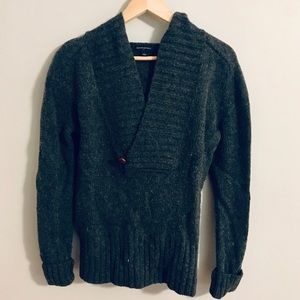 Wool Banana Republic Factory Hooded Sweater